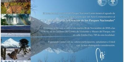 Aniversario de Parques Nacionales