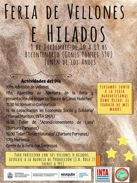 Programa Feria de Vellones e Hilados