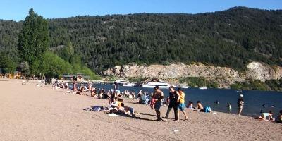 Playa Lago Lácar