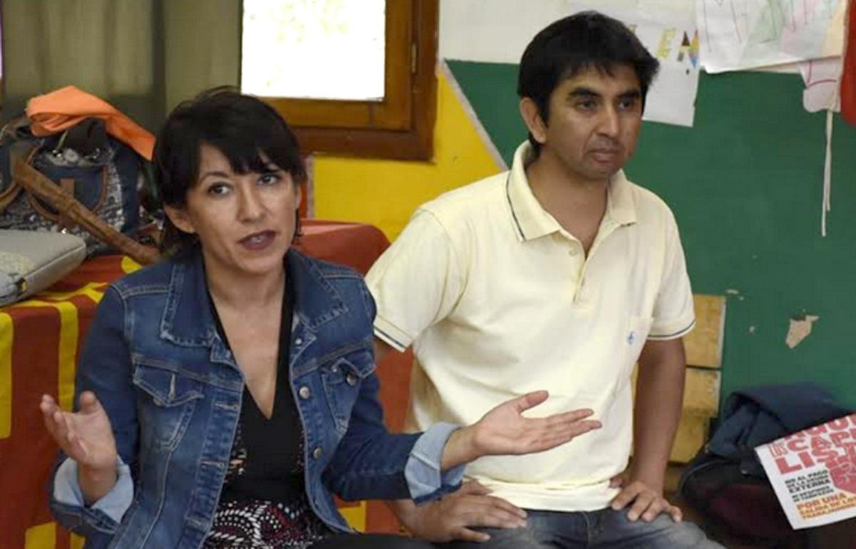 Patricia Jure y Camilo Torres plantearon a los vecinos las propuestas del FIT