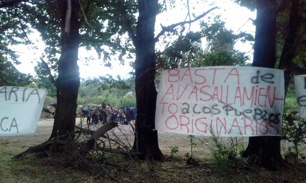 Fuerte apoyo al reclamo de la Comunidad Curruhuinca por terrenos de Quila Quina