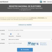 Elecciones nacionales: extienden la posibilidad de pedir correcciones en el padrón provisorio