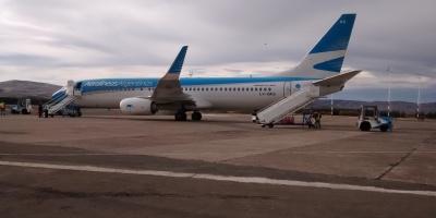 Avión Aerolíneas Aeropuerto Chapelco