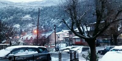 Nieve San Martín de los Andes