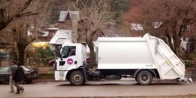 Camión recolección de residuos