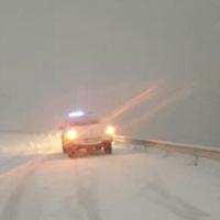 Protección Civil emitió alerta por frío y nevadas de hasta medio metro en el casco urbano