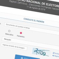 Ya están listos los padrones definitivos: averiguá dónde tendrás que votar el 11 de agosto