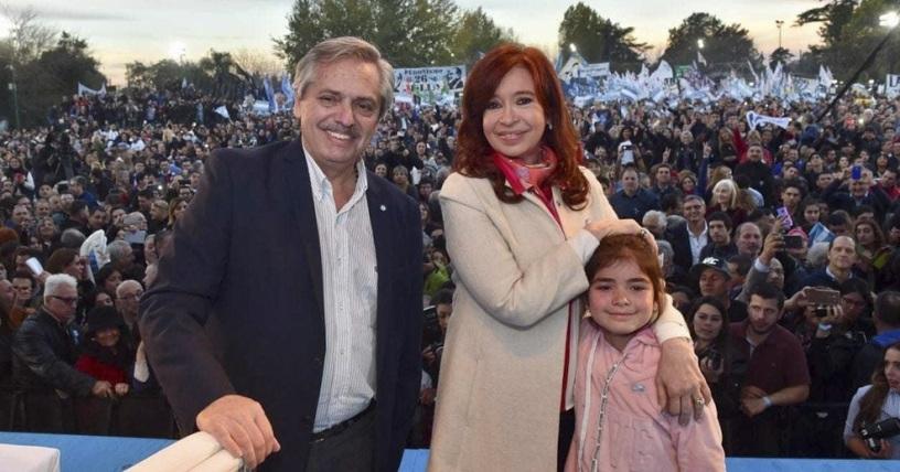 Alberto y Cristina Fernández