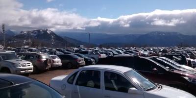 Cerro Chapelco estacionamiento