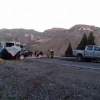 Violento y fatal choque en la Ruta 237: dos muertos