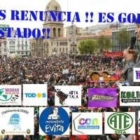 Convocan a Plaza San Martín para repudiar el golpe en Bolivia