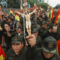 Repudios sanmartinenses al golpe de Estado en Bolivia