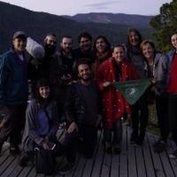 Laura Azcurra grabó en San Martín el adelanto de la serie 'Ruta 40'